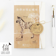 Card Lover magical animals postcard Bookmark greeting card Letter paper 1 lot = 1 pack = 30 pcs(China)