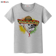 BGtomato Lovely dog funny T-shirts Original Brand New clothes 3D cartoon casual shirts women tops tees cheap sale