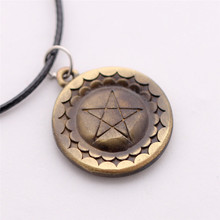 2015 Real Maxi Necklace Jewelry Animation Peripheral Accessories Deacon Pentagram Necklace And Retro Aliexpress Ebay Wholesale(China)