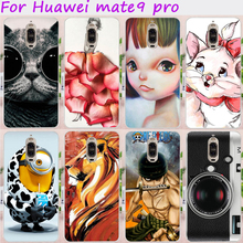 TAOYUNXI Cases for Huawei Mate 9 Pro Cover Mate 9 Porsche Design 5.5 inch Hard Plastic Soft TPU Cute Animal Cell Phone Skin Hood(China)