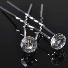 20pcs/ lot Hair Jewelry Wedding Rhinestone Hairpins Women Hair Jewelry Wedding Hair Accessories Bridal Fashion Jewelry P