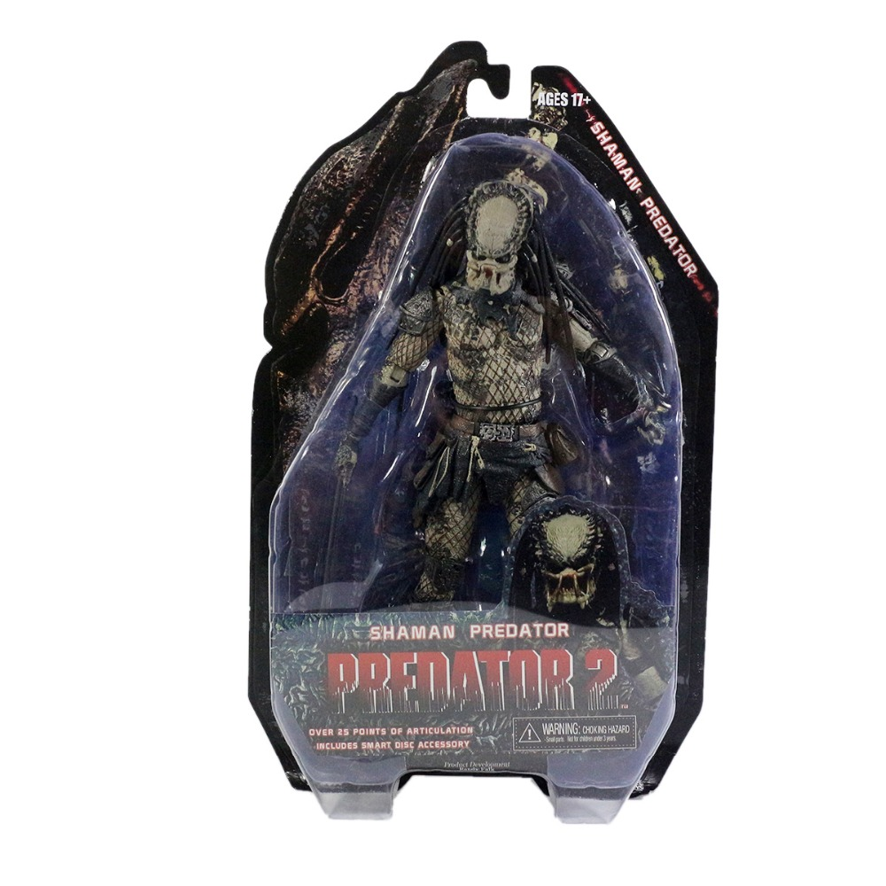 PREDATOR 2 Series 4 Shaman Predator 8 Action Figure Free Shipping<br>
