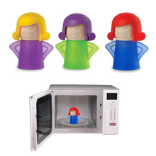 Metro Angry Mama Cleaning Microwave Cleaner Cooking Kitchen Gadget Tools With Package(China)