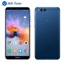 "In Stock Huawei Honor 7X 5.93"" Full View Screen 2160*1080pix Smartphone Octa Core 2.4GHz Dual Rear Camera 16MP Android 7.0 OTA"