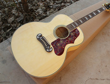 "43""Acoustic Guitar with Gold Hardwares,Red Tortoise Shell Pickguard,Offer Customized"