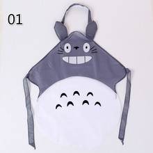 Funny Creative Joke Christmas Aprons Kitchen Cartoon totoro Apron Waterproof Novelty BBQ Personalized for Apron Gifts