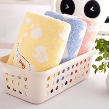 Cute Baby Elephant Child Towel Bamboo Fiber Towel Cotton Towel Strong Water Absorbing Microfiber Bathing Shower Towel