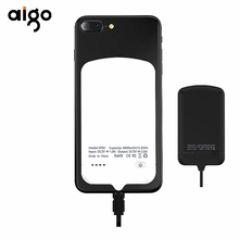 AIgo BDR-DT01 4000mAh Mobile Power Bank Anti Gravity Nano-suction Polymer Battery Portable Travel Phone Charger for iPhone(China)