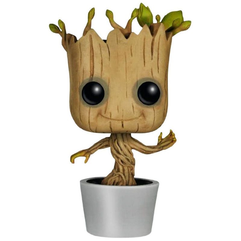 Funko POP! 10cm Guardians Of The Galaxy: Groot - Vinyl Bobble-Head Marvel Action Figure Toy.Kids Toys<br><br>Aliexpress