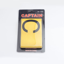 High quality Soccer captain band Flexible Sports Adjustable Player Bands Fluorescent Football Armband Wholesale(China)