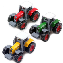 3 Colors Green Yellow Red Tractors Truck Toy Car Farm Vehicles For Children Gift For Baby Boys