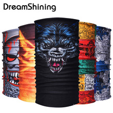 Bicycle Motorcycle Bandana Headband Variety Turban Hood Magic Headband Scarf Multi Function Seamless Tubular