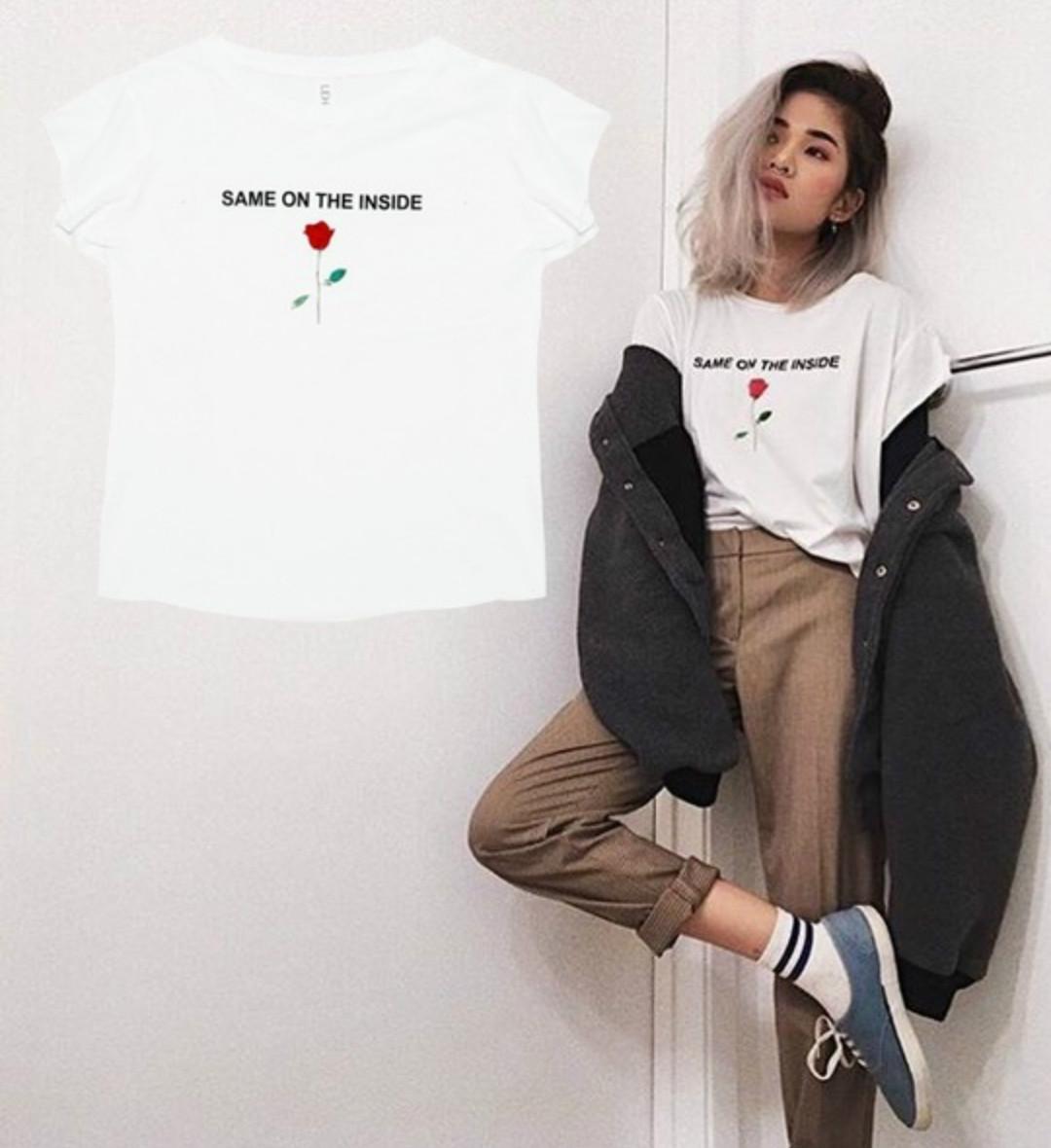 White T Shirt Dress Tumblr Bcd Tofu House