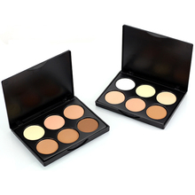 2017 New Professional Cosmetic Long Lasting Brightener corretivo Face Powder Bronzer Highlighter Makeup Contour Palette