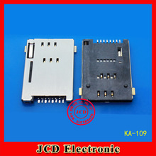 SIM card Self bomb PUSH 8P Tablet PC Mobile phone Card slot GPRS Card holder KA-109(China)