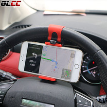 Phone holder & Car Steering Wheel Mount Holders Rubber Band For iPhone For iPod MP4 GPS Auto Universal Car Bracket Accessories