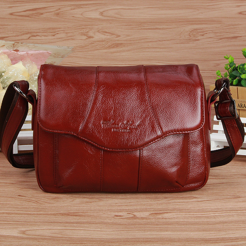 Vintage Women Genuine Leather Handbags Luxury Handbags Women Messenger Shoulder Bags High Quality Bolsas Feminina<br>