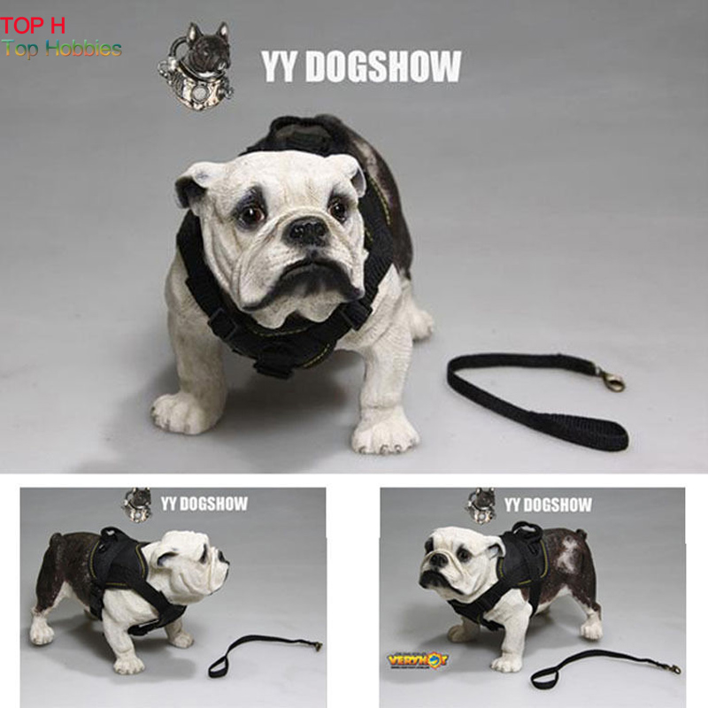 Authentic YY DOGSHOW Brand 1/6 Bulldog Dog Suit model 1045 Fit 12 Action Figure<br>