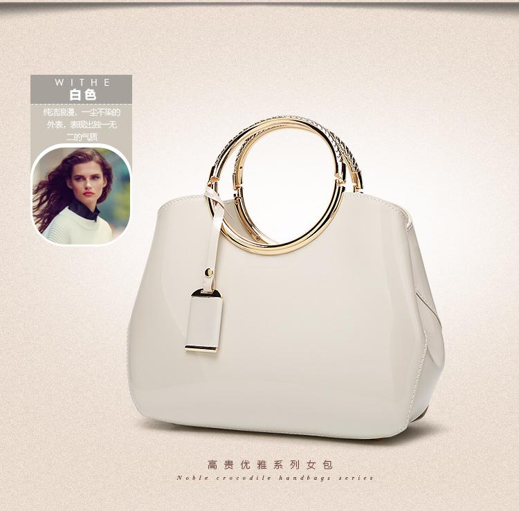 New High Quality Patent Leather Women bag Ladies Cross Body messenger Shoulder Bags Handbags Women Famous Brands bolsa feminina (20)