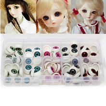 100Pcs Plastic Safety Puppet Doll Eyes DIY Bear Crafts Mix Color Doll EyeBall Handmade Craft Supplies(China)