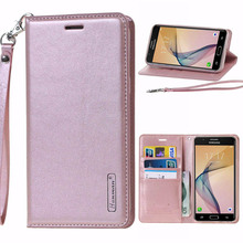 For ( Samsung J5 2017 ) Cases Genuine Leather Wallet Flip Cover sfor Samsung J5 2017 J530F Mobile Phone Bags Coque For EU market(China)