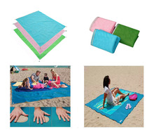 Sand Free Mat Camping Mat Outdoor Picnic Mattress Beach Mat PVC Sand Free Mat Beach Cushion Outdoor  2017 Free Shipping
