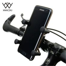 New Version Universal Rotating 360 Degrees X-Grip Clamp Mount Bike Bicycle Phone Holder Stand For CellPhone Free Shipping