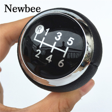 Newbee Black Cap Car Accessories 5 / 6 Speed Gear Shift Knob Shifter Knob for Toyota Corolla 1.8MT 2007 2008 2009 2010 - 2013(China)