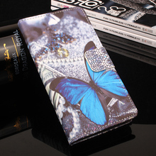 Fashion Painting Wallet Case Homtom HT16 Left-Right Flip Leather Cover Phone Shell - Big Prospect Store store