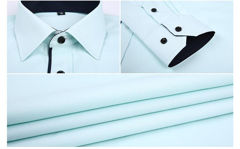 Dudalina Camisa Male Shirts Long Sleeve Men Shirt Brand Clothing Casual Slim Fit Camisa Social Striped Masculina Chemise Homme 13