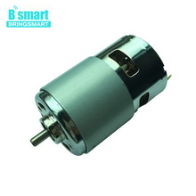 Wholesale RS775 24V DC Motor Large Torque Motor 24V 8300rpm With Cooling FAN Small Noise Motor