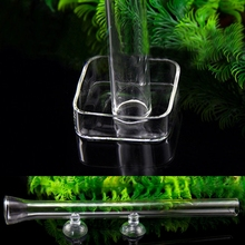 Hot Sale Practical Shrimp Feeding Food Glass Tube Suction For Aquarium Fish Tank Supply AUG18(China)