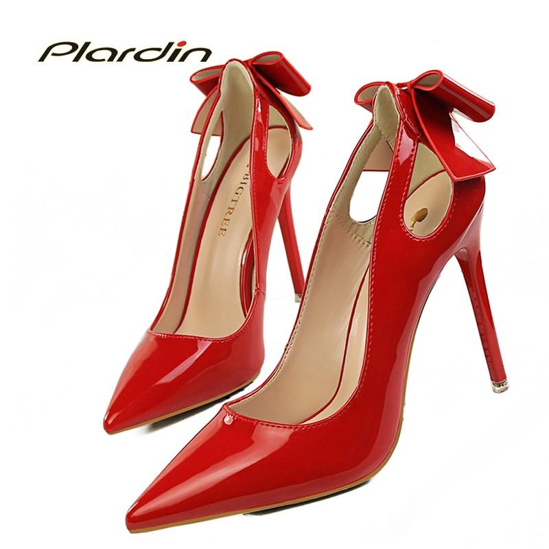 plardin Bowite Sexy Wedding Pumps Pumps Women Victoria Shoes Woman 2017 Women Womens Sweet Bridal High Heels<br><br>Aliexpress