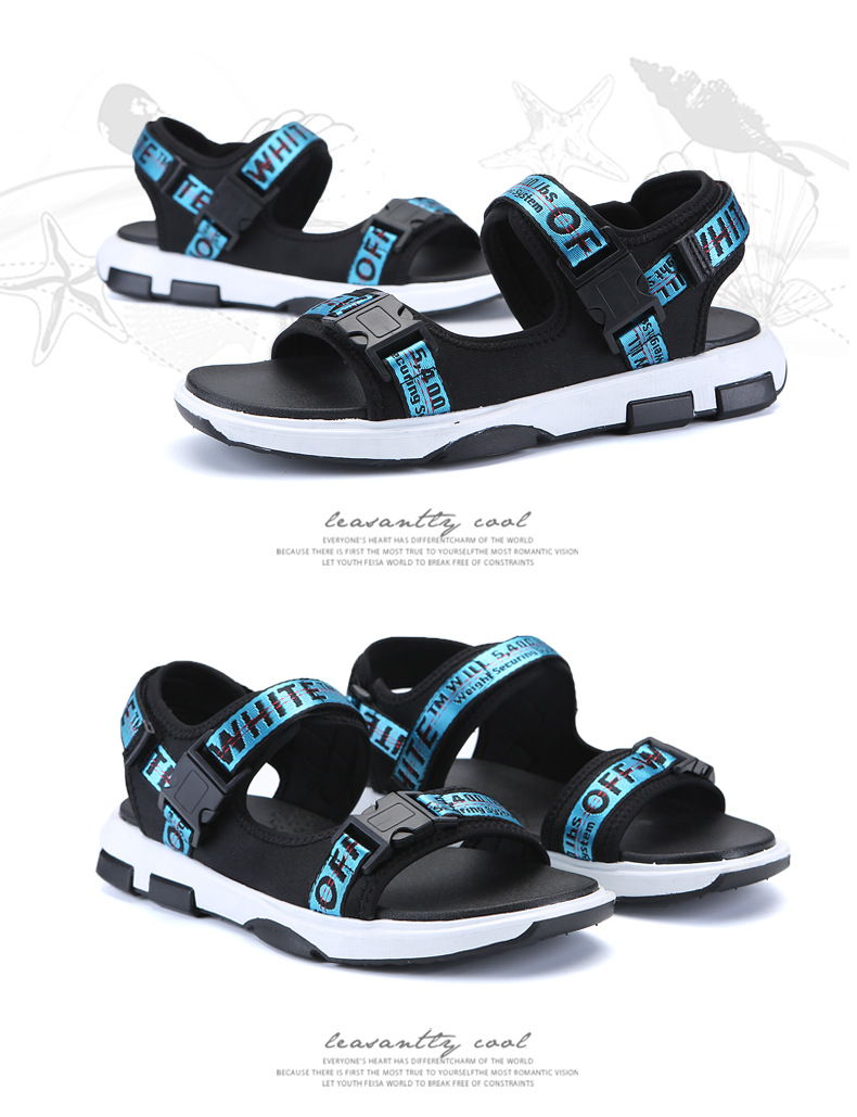 Summer Men Beach Sandals Fashion Breathable Walking Shoes Male Adult Comfortable Flat Sandals Outdoor Footwear Chaussures Homme 35 Online shopping Bangladesh