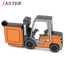 JASTER mini cute Truck pendrive 4GB 8GB 16GB 32GB usb flash drive cool car memory Stick cartoon fashion gift hot selling