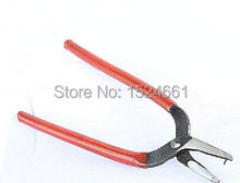 Stainless Steel Hole Punch Pliers Hand Tools Red 16cm *tweezers vise	glue gun pliers ring sizer graver jewelry tools