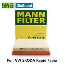 MANNFILTER  car air Filter C21014 for  VW SKODA Rapid Fabia auto parts