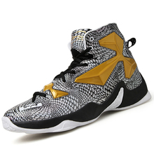 2017 new basketball shoes men high ankle basket boots lebron Athletic air Trainer women sneakers athletic plus size 10 11 12(China)