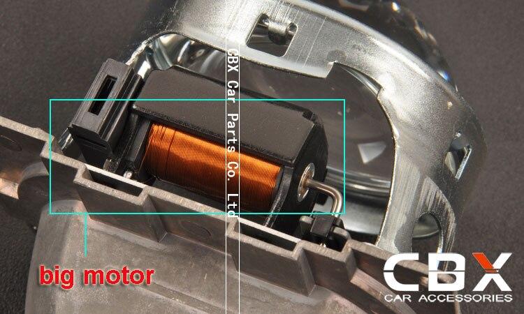 3.0 inches Koito Q5 H7 bulb socket 4
