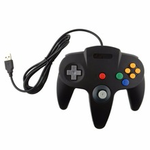 Hot USB Game Wired Controller Joypad Joystick Gamepad Gaming For Nintendo for Gamecube for N64 64 PC for Mac Black