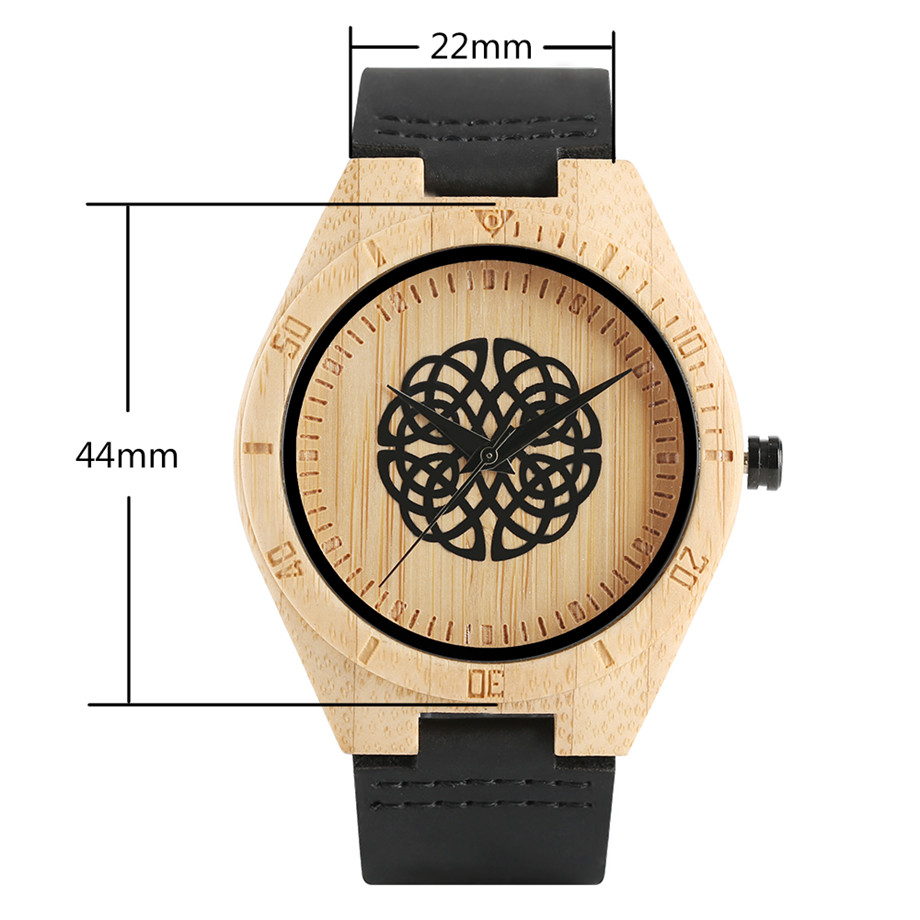 genuine leather band creative watches for men14