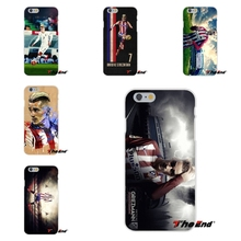 Antoine Griezmann France Soccer Star Poster TPU Slim Back Silicone Case Cover Skin For iPhone 4 4S 5 5S 5C SE 6 6S 7 Plus