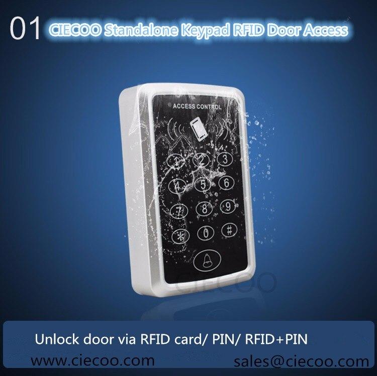 hotsales 125KHZ EM card reader standalone keypad single door access controller RIFD EM Keypad Card Access Control Door Opener<br><br>Aliexpress