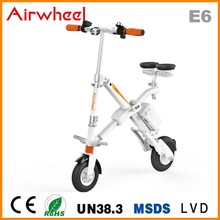 2016 Light Weight Foldable Electric Scooter with Seat Portable Mobility folding electric bike lithium battery bicycle(China)