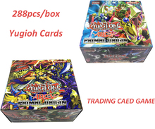 288Pcs/Box Yugioh Cards Game Paper Cards Childrens Toys Yu Gi Oh Game Trading Cards Game  Gift Brinquedo Toys