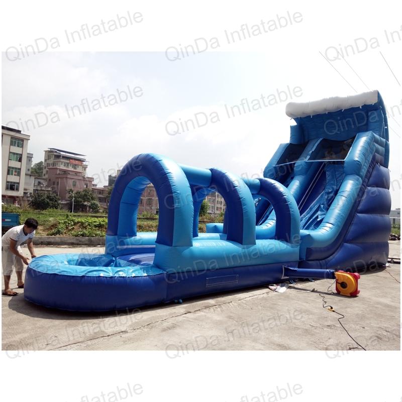 inflatable bouncer slide fun city castle(43)