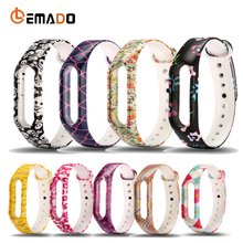 Buy Colorful Silicone Replacement Strap Belt Xiaomi Mi Band 2 Smart Wristband Bracelet Replace Accessories Mi Band 2 Straps for $1.19 in AliExpress store