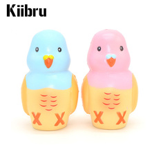 New Kiibru 12CM Jumbo Parrot Squeeze Stretch Squishy Kawaii Cute Animal Slow Rising Scented Bread Cake Kid Toy Gift Phone Straps(China)