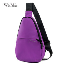 Newest Running Chest Bag Waterproof Outdoor Jogging Bags Travel Shoulder Pack  Sling Backpack Pouch Camping Hiking Bicycle Bag 938d2d79336bd