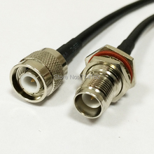 RF Wireless Router Cable TNC Male To  RP TNC female jack with male pin Pigtail cable RG58 50CM